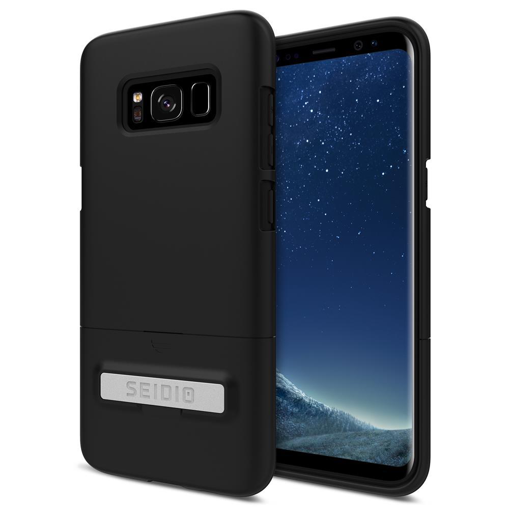 SEIDIO|都會時尚手機殼/保護殼 for Samsung S8-SURFACE(消光黑)