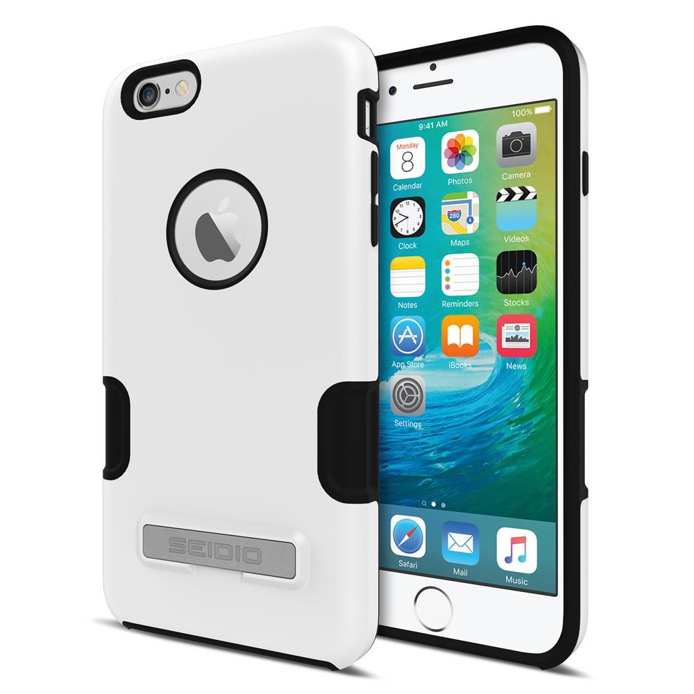 SEIDIO|專業級雙層手機殼/保護殼 for Apple iPhone 6/6s Plus-DILEX Pro(極簡白)