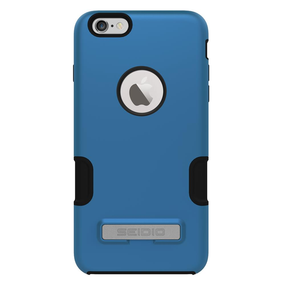 SEIDIO|專業級雙層手機殼/保護殼 for Apple iPhone 6/6s Plus-DILEX Pro(天空藍)