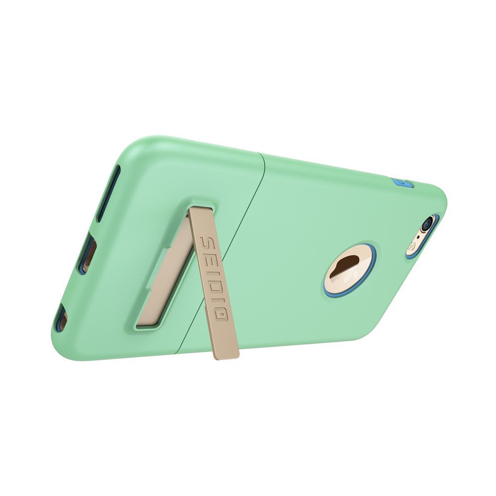 SEIDIO|都會時尚雙色手機殼/保護殼 for Apple iPhone 6/6s Plus-SURFACE(清新綠)
