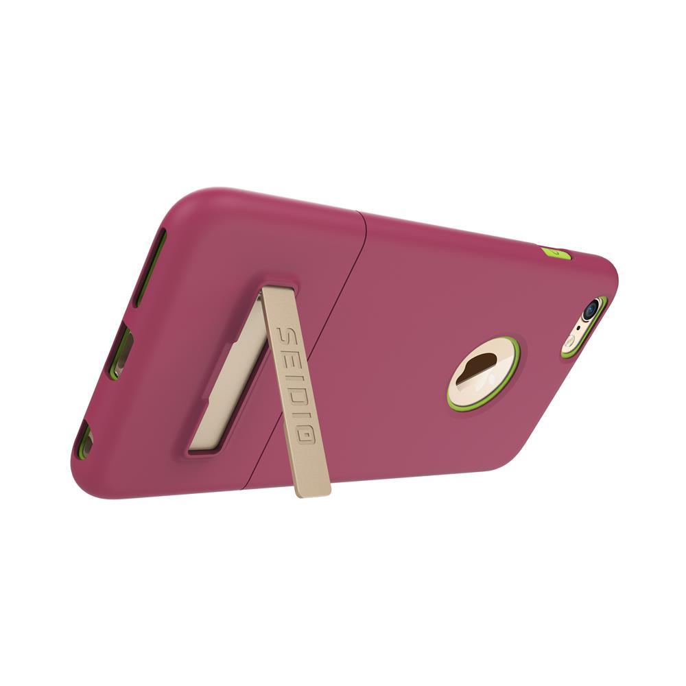 SEIDIO 都會時尚雙色手機殼/保護殼 for Apple iPhone 6/6s Plus-SURFACE(野豔桃)