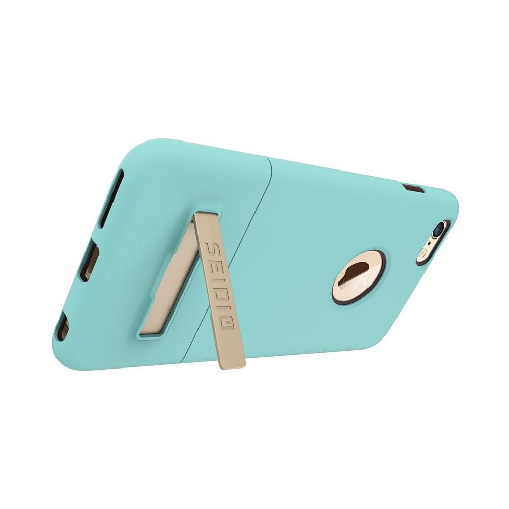 SEIDIO|都會時尚雙色手機殼/保護殼 for Apple iPhone 6/6s Plus-SURFACE(優雅藍棕)