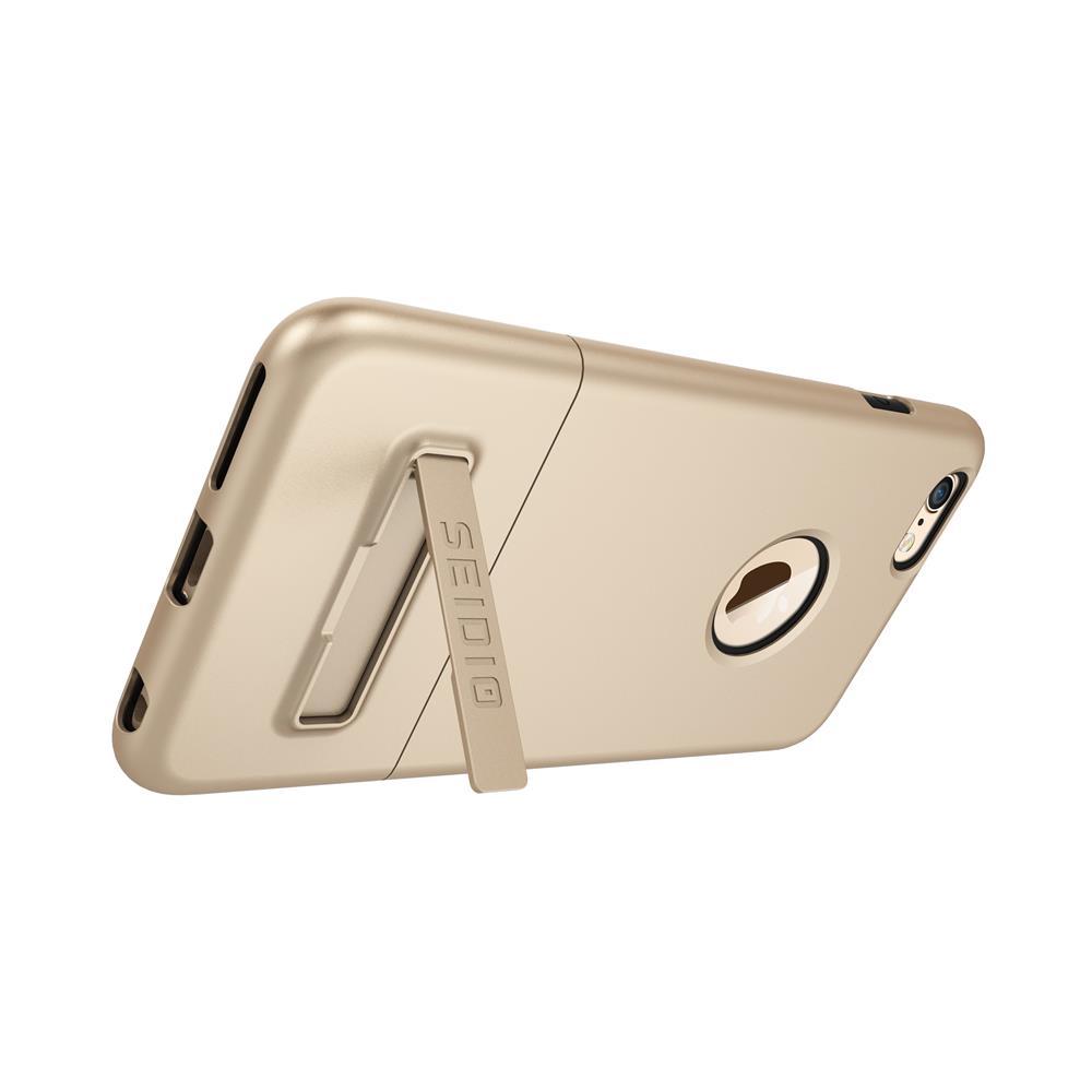 SEIDIO|都會時尚雙色手機殼/保護殼 for Apple iPhone 6/6s Plus-SURFACE(時尚金)