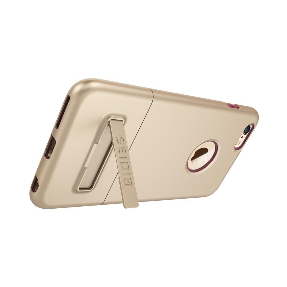 SEIDIO|都會時尚雙色手機殼/保護殼 for Apple iPhone 6/6s Plus-SURFACE(時尚金粉)