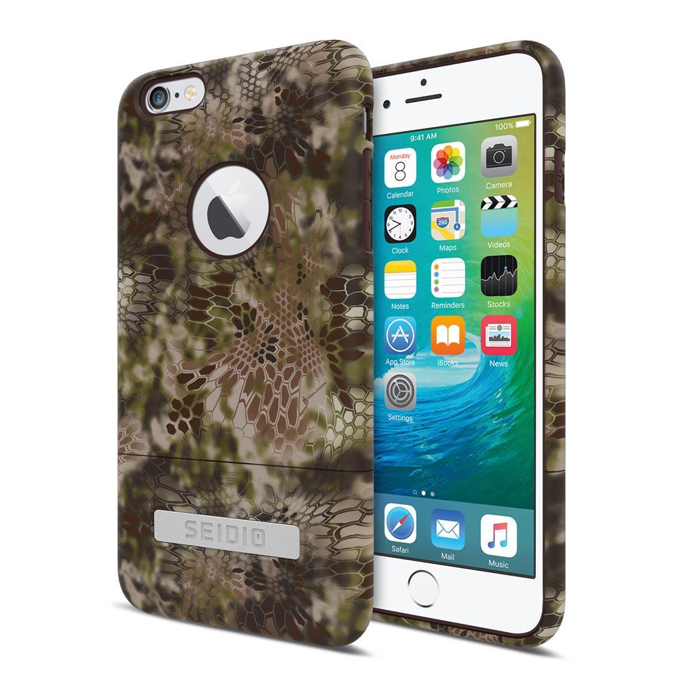 SEIDIO|迷彩聯名手機殼/保護殼 for Apple iPhone 6/6s Plus-SURFACE x KRYPTEK(荒野戰士)