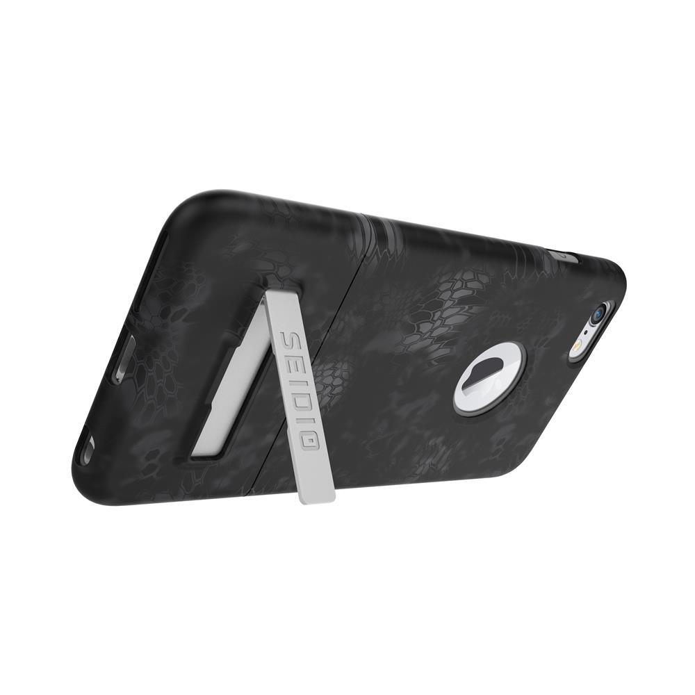 SEIDIO|迷彩聯名手機殼/保護殼 for Apple iPhone 6/6s Plus-SURFACE x KRYPTEK(闇夜黑蟒)