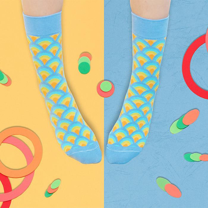 (複製)sokker® 富士夕下4分之3襪