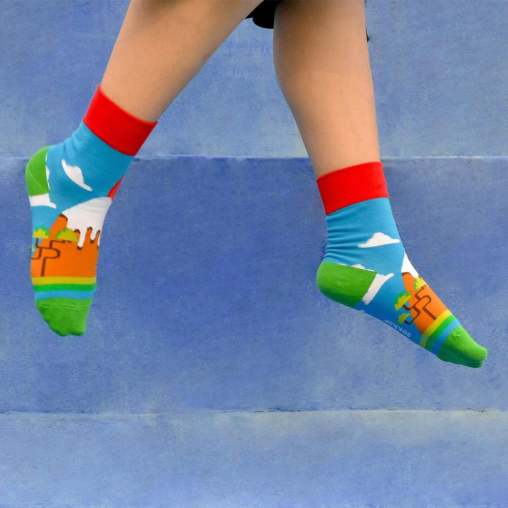 sokker®|富士夕下4分之3襪