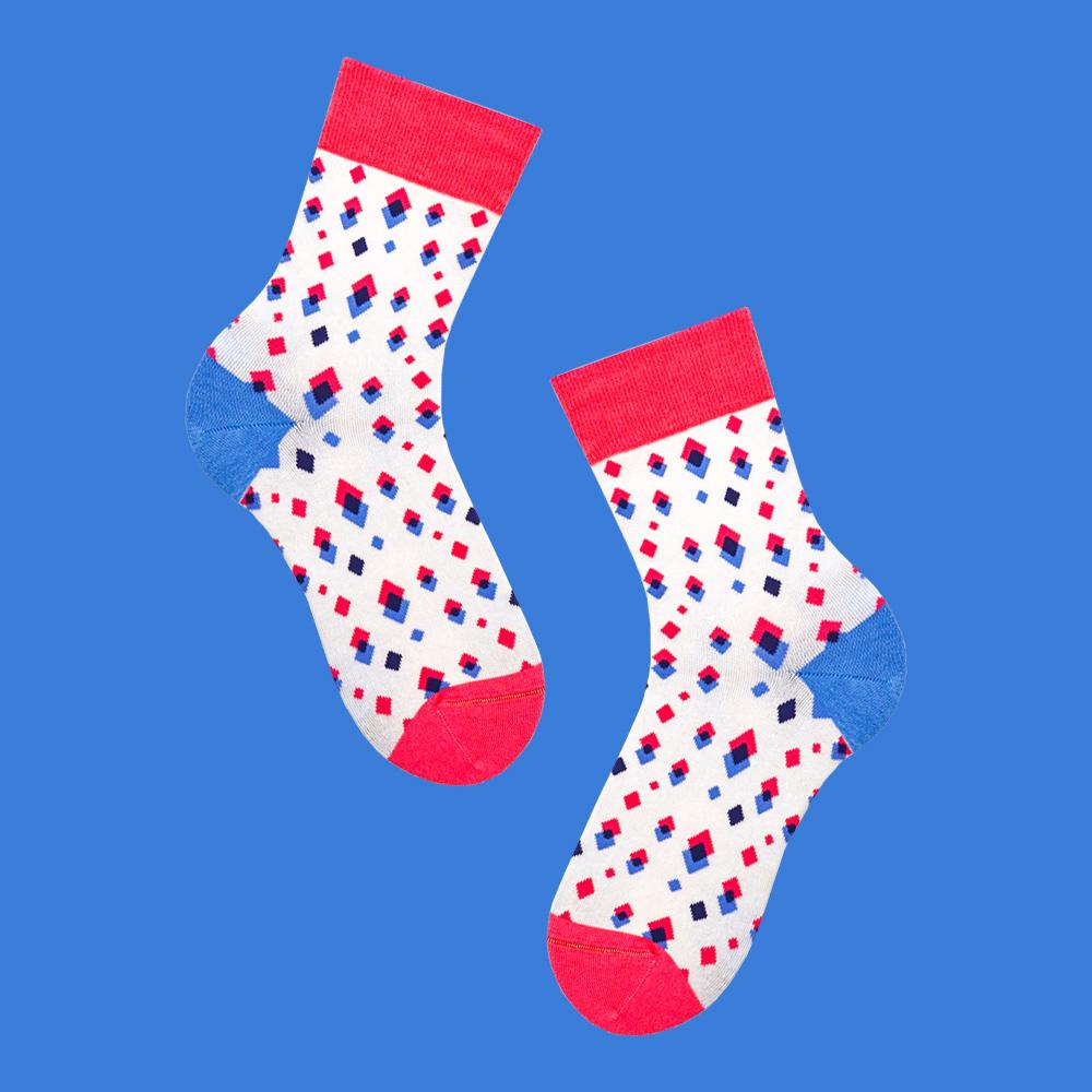 sokker®|幾何疊樂4分之3襪