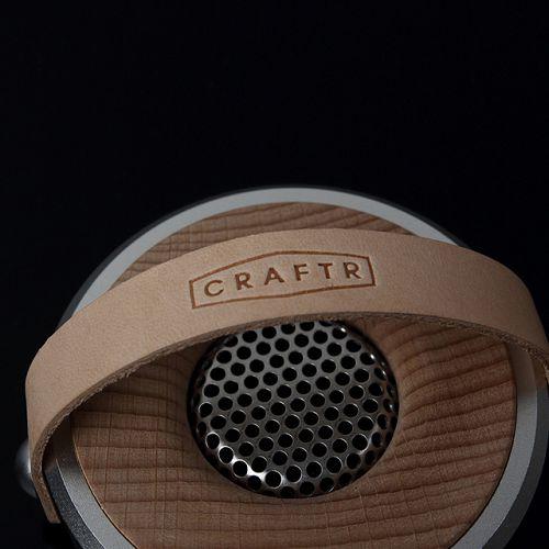 Craftr  Woofer 原木金屬座式擴香器 銀色 Misty blue