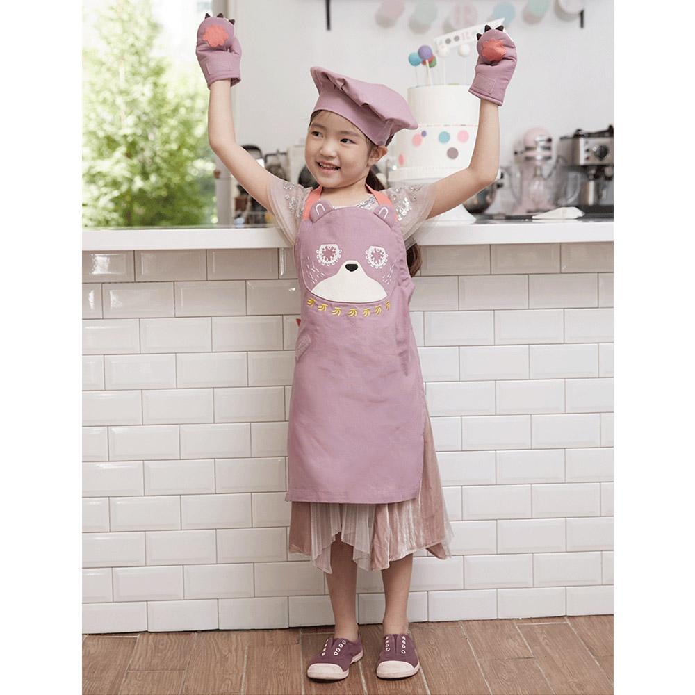 韓國 KOOROOM|兒童圍裙-小熊BooBoo