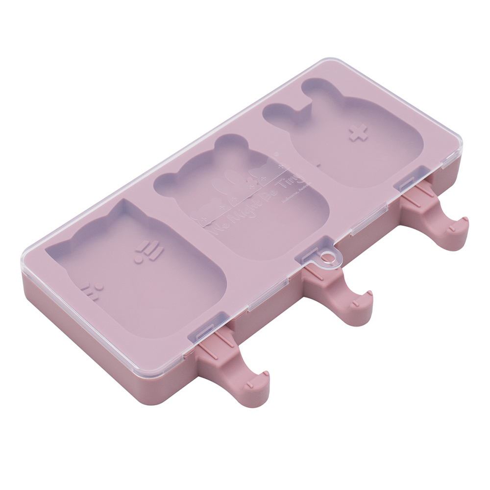 澳洲We Might Be Tiny|矽膠動物冰棒盒-煙燻玫瑰