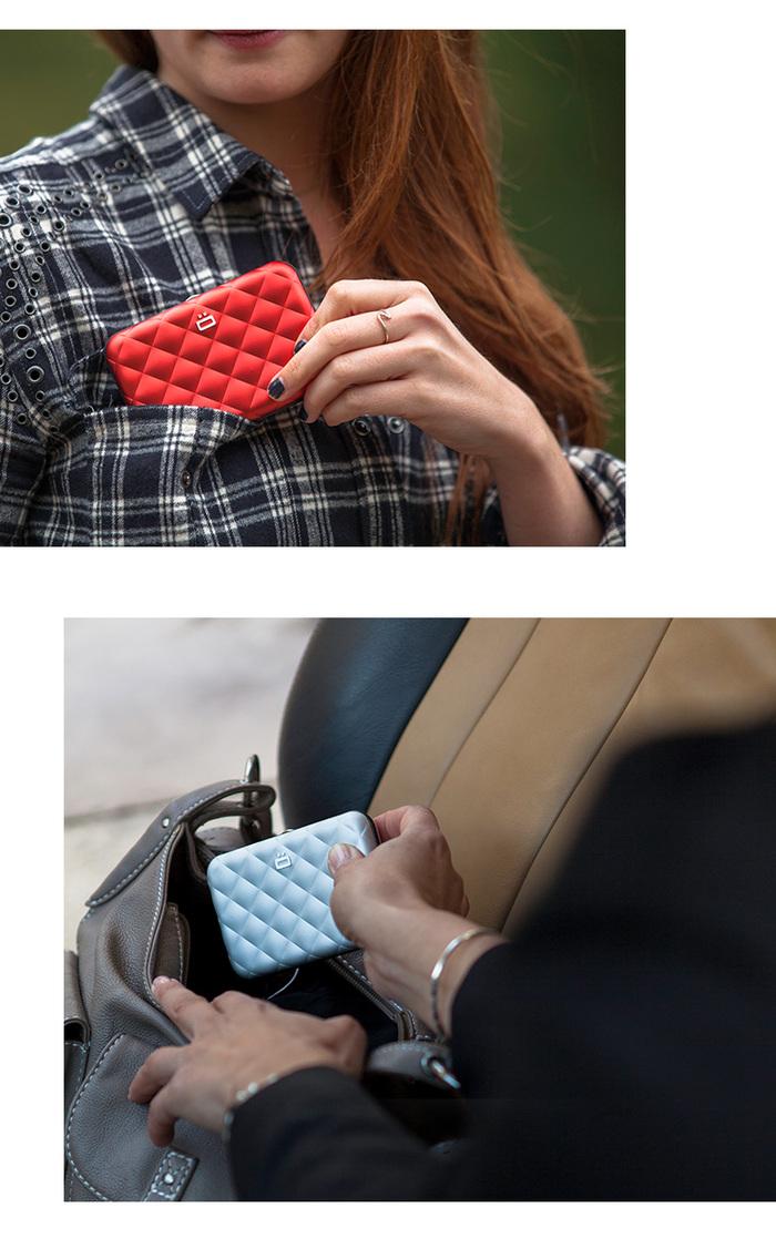 (複製)ÖGON|One-Touch RFID安全防盜名片夾(藍色)