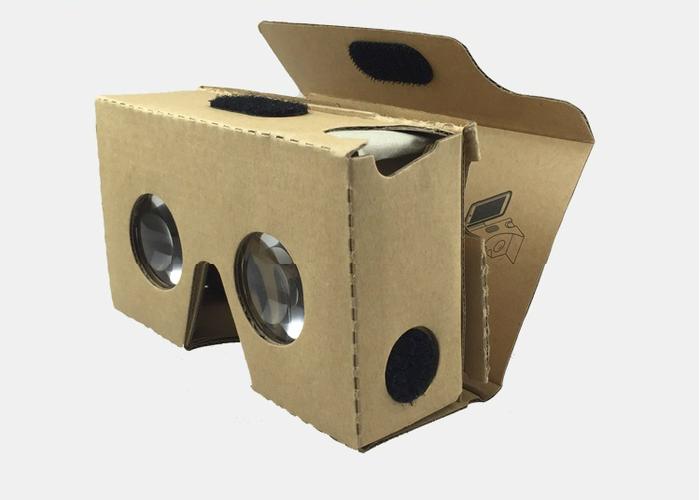 AIBOXVR Glass Google Cardboard II 谷歌虛擬實境眼鏡二代 黑色
