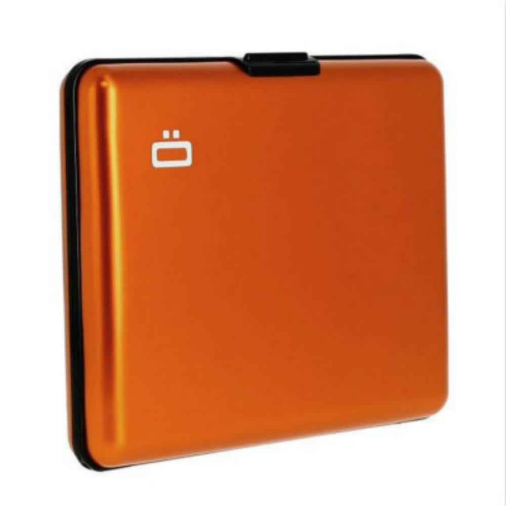 ÖGON Big Stockholm RFID安全防盜經典錢包(橘色)