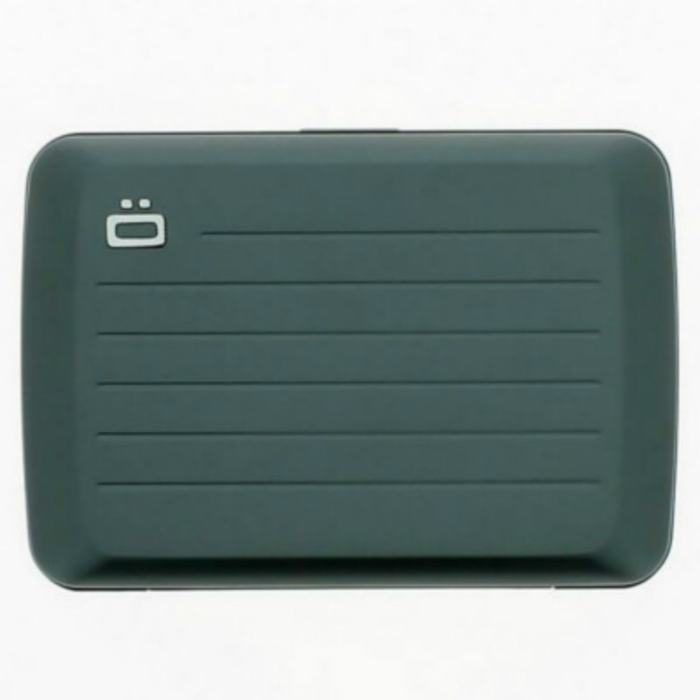 ÖGON|Stockholm V2 RFID安全防盜鋁製錢包(鈦灰色)
