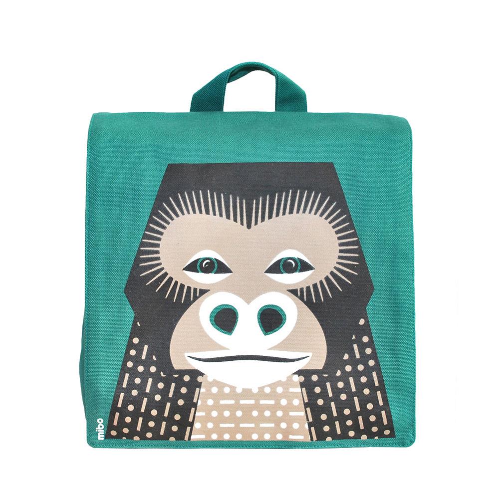 COQENPATE│法國有機棉無毒環保布包 / 小童寶包幫- 猩猩