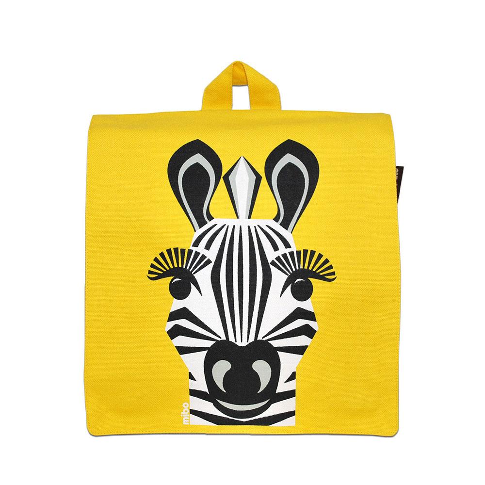 COQENPATE│法國有機棉無毒環保布包 / 小童寶包幫- 斑馬