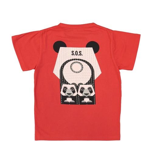 COQENPATE│法國有機棉童趣 短袖 T-SHIRT - 熊貓