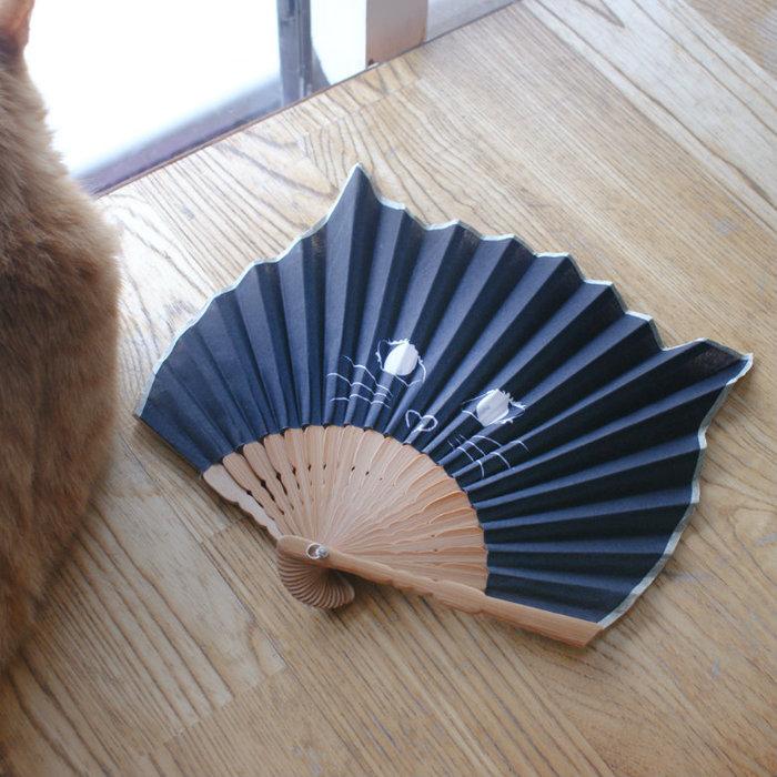 DESTINO STYLE 日本那堤貓摺扇