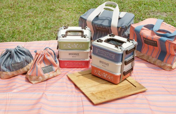DESTINO STYLE 日本B/D三層式組合野餐盒