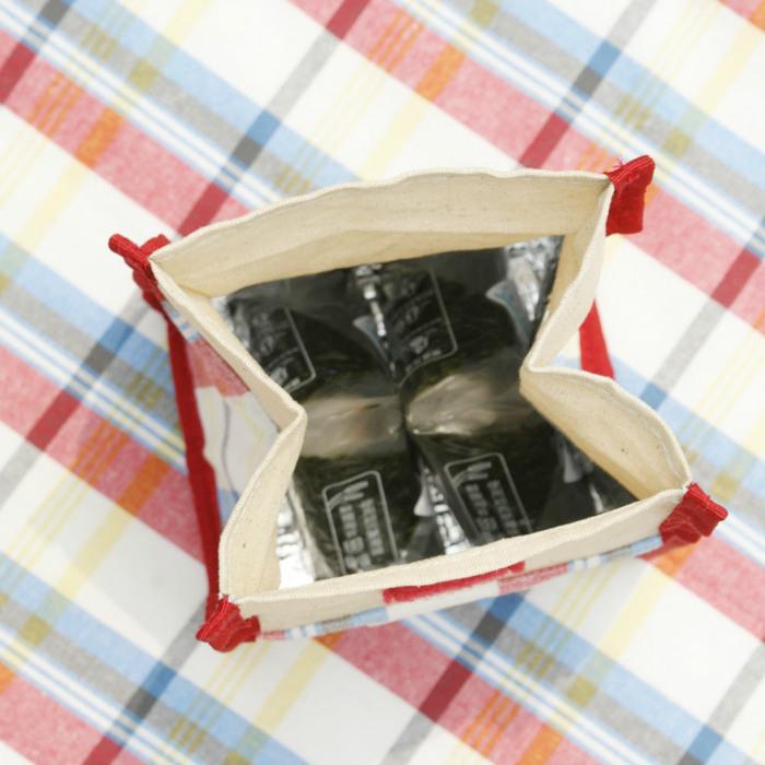 DESTINO STYLE|日本256經典格紋簡易野餐保冷(溫)袋