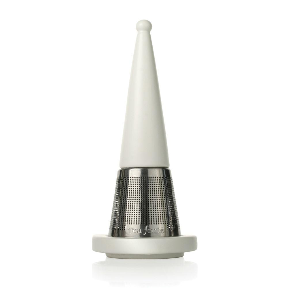 Tea Forté|露思錐型茶葉濾器 - 白瓷
