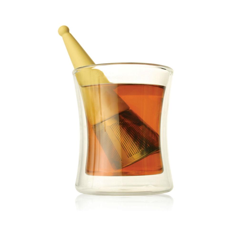 Tea Forté|露思錐型茶葉濾器 -鵝黃