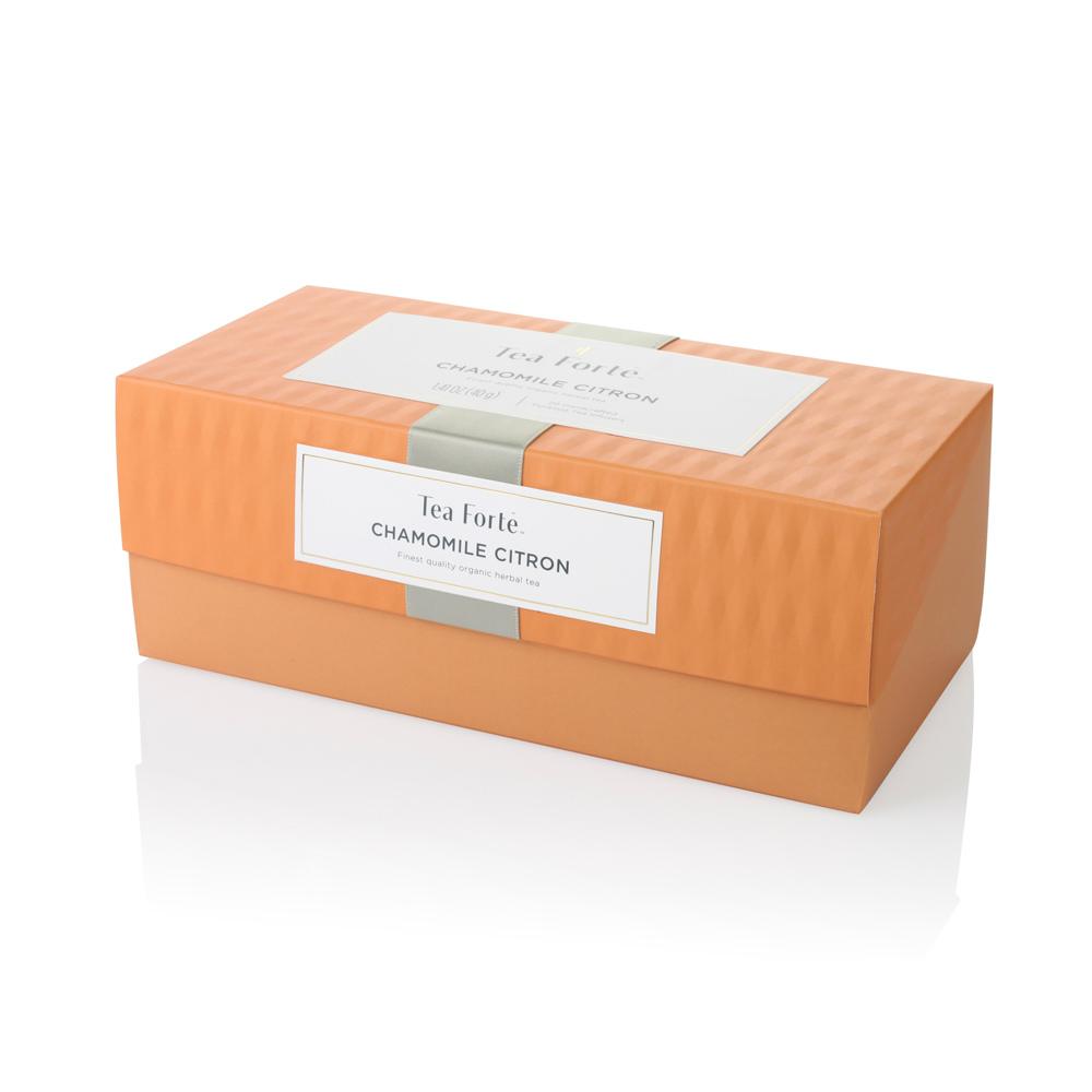 Tea Forté|20入金字塔型絲質茶包 - 洋甘菊香櫞茶