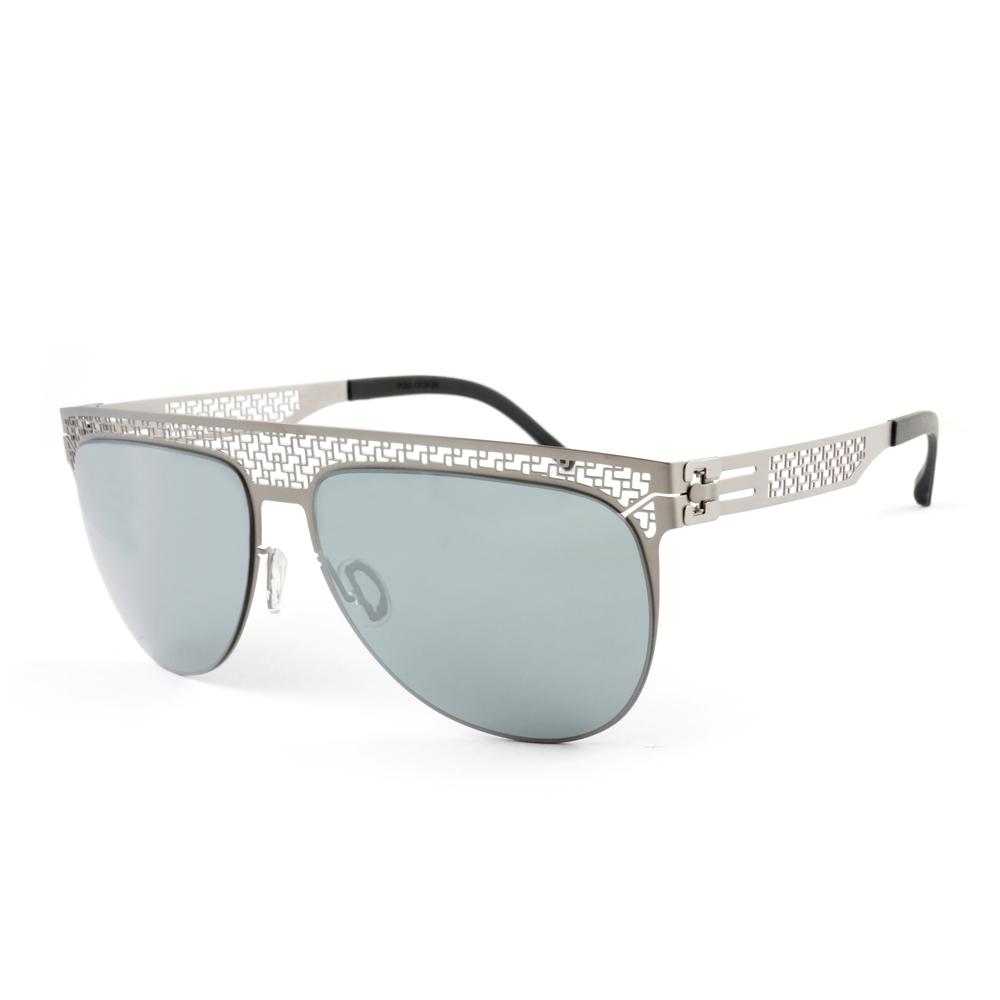 Magi-Steel|無螺絲專利結構薄鋼太陽眼鏡  潮系列–迴