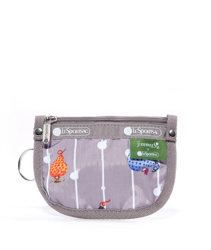 LeSportsac|Jimmy Spa 幾米聯名 布瓜的世界鑰匙零錢包