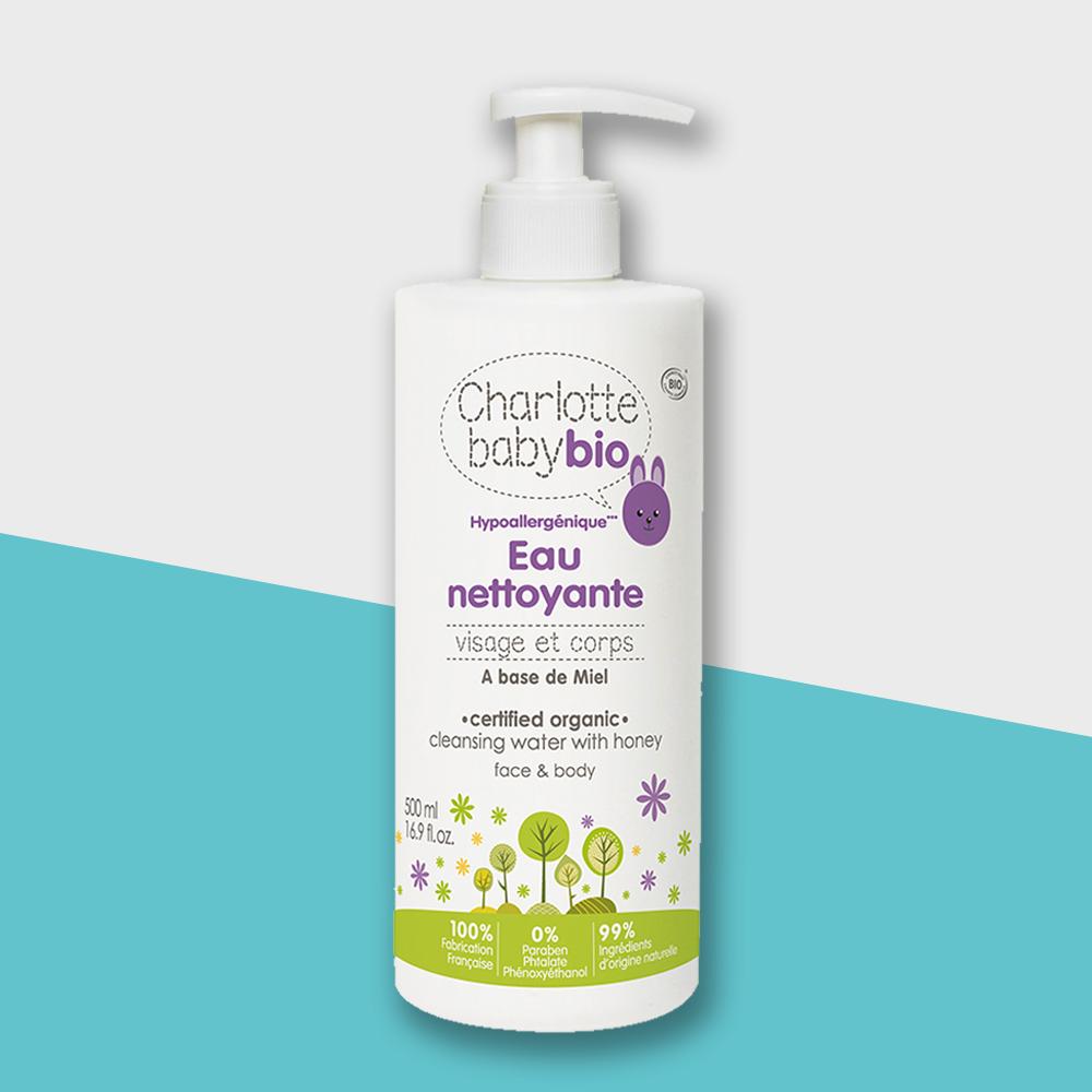 Charlotte baby bio|夏綠蒂寶貝嬰幼兒免用水潔淨液