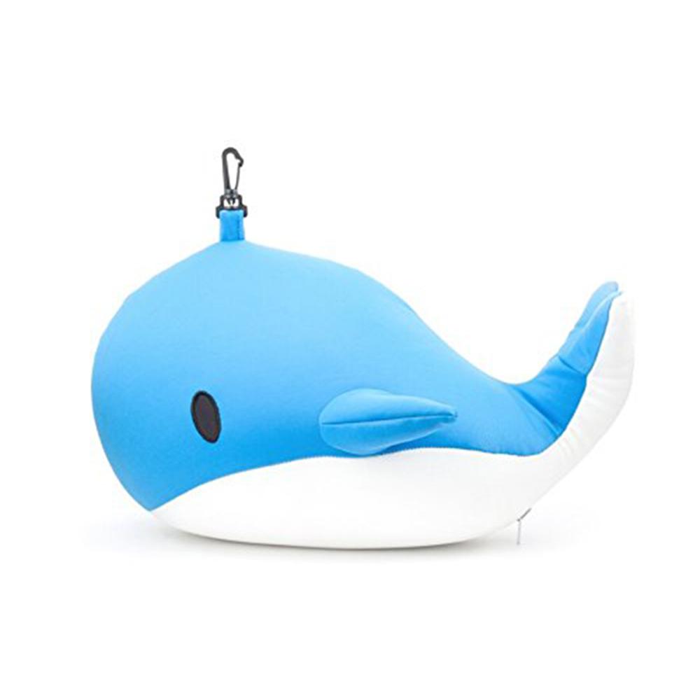 KIKKERLAND │ 鯨魚變形枕頭-旅行靠枕