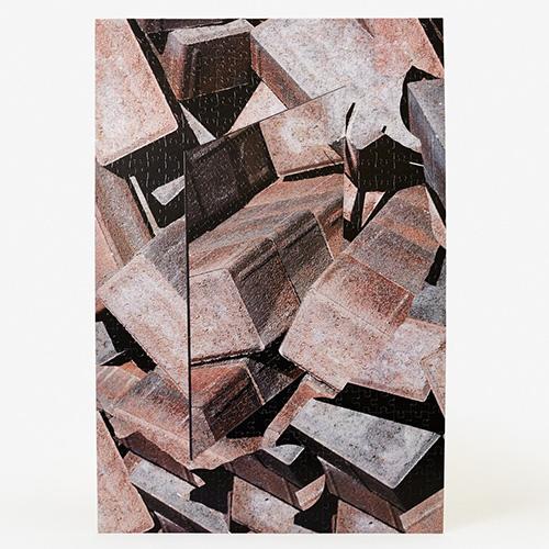 AREAWARE|3D立體視覺拼圖(紅瓦磚)