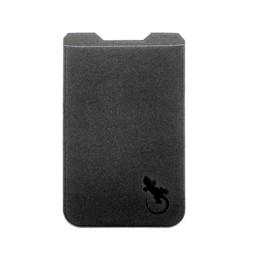 Gecko Travel Tech|防盜卡夾手機貼5件組-深灰