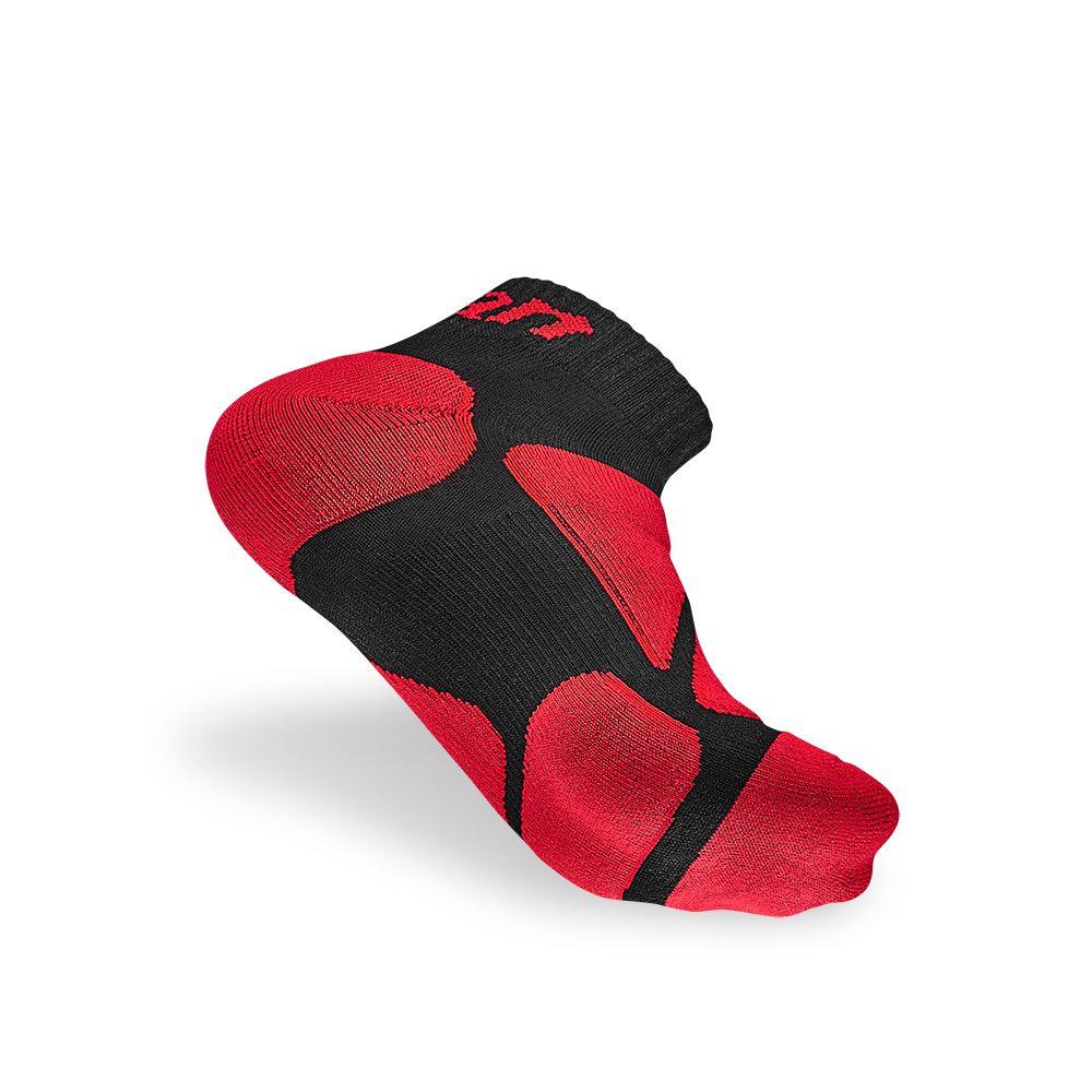 titan太肯|功能慢跑襪-紅色系(3入)