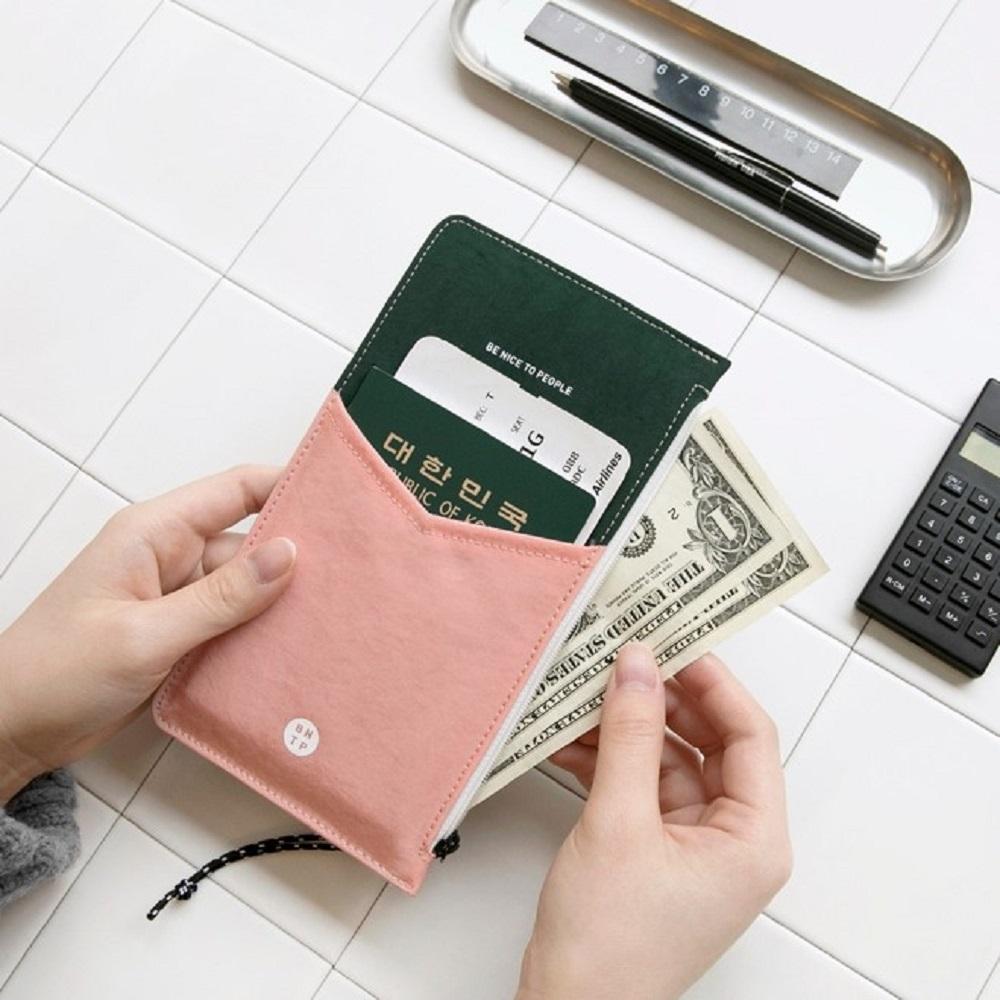 BNTP | 雙色萬用護照零錢包