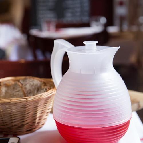 La Carafe|法式美學典藏水壺 Vintage 系列- 1300ml (紅色)