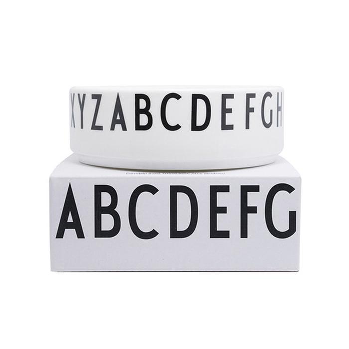 Design Letters 字母骨瓷碗