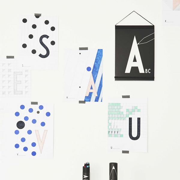 DESIGN LETTERS|兒童字母塗鴉本