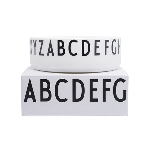 DESIGN LETTERS|字母骨瓷碗