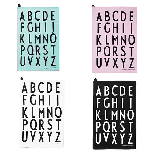 DESIGN LETTERS|字母餐巾2入/組
