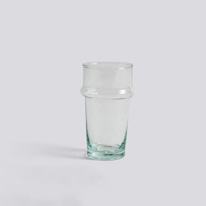 HAY l Moroccan Hand Blown Glass  摩洛哥製吹玻璃杯 (Clear / 透明)