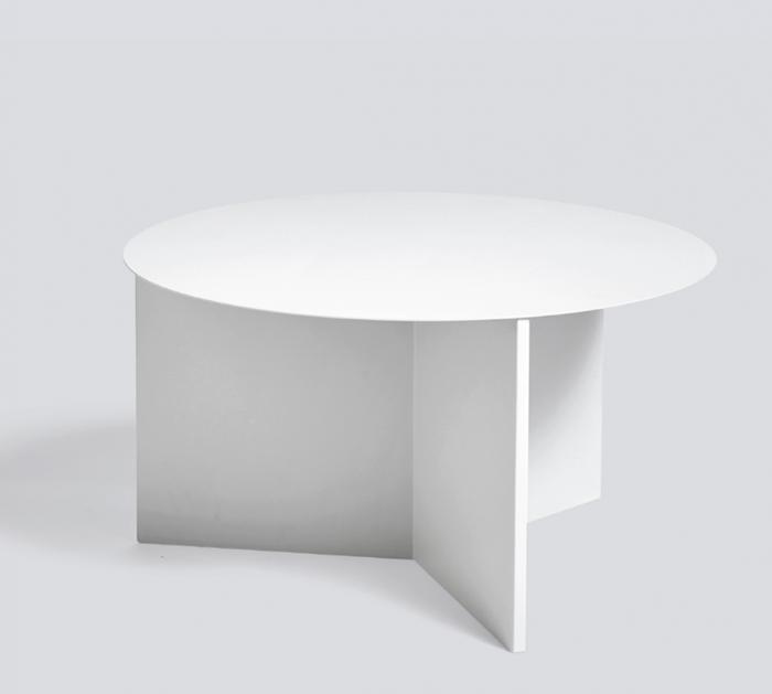 HAY l Slit Table XL Round 幾何 / 折几 XL - 圓 (White/白)