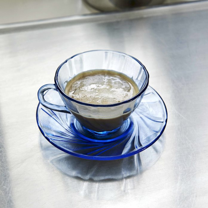 HAY l french coffee cup w/ saucer / 法國製咖啡杯 (Blue / 藍)
