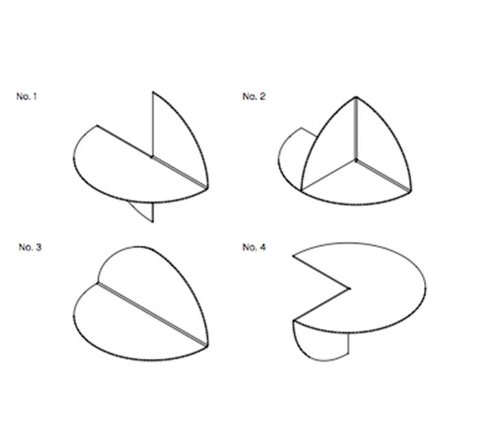 HAY l Pivot No. 2 樞紐 No.2 / 壁掛置物架(黃色)
