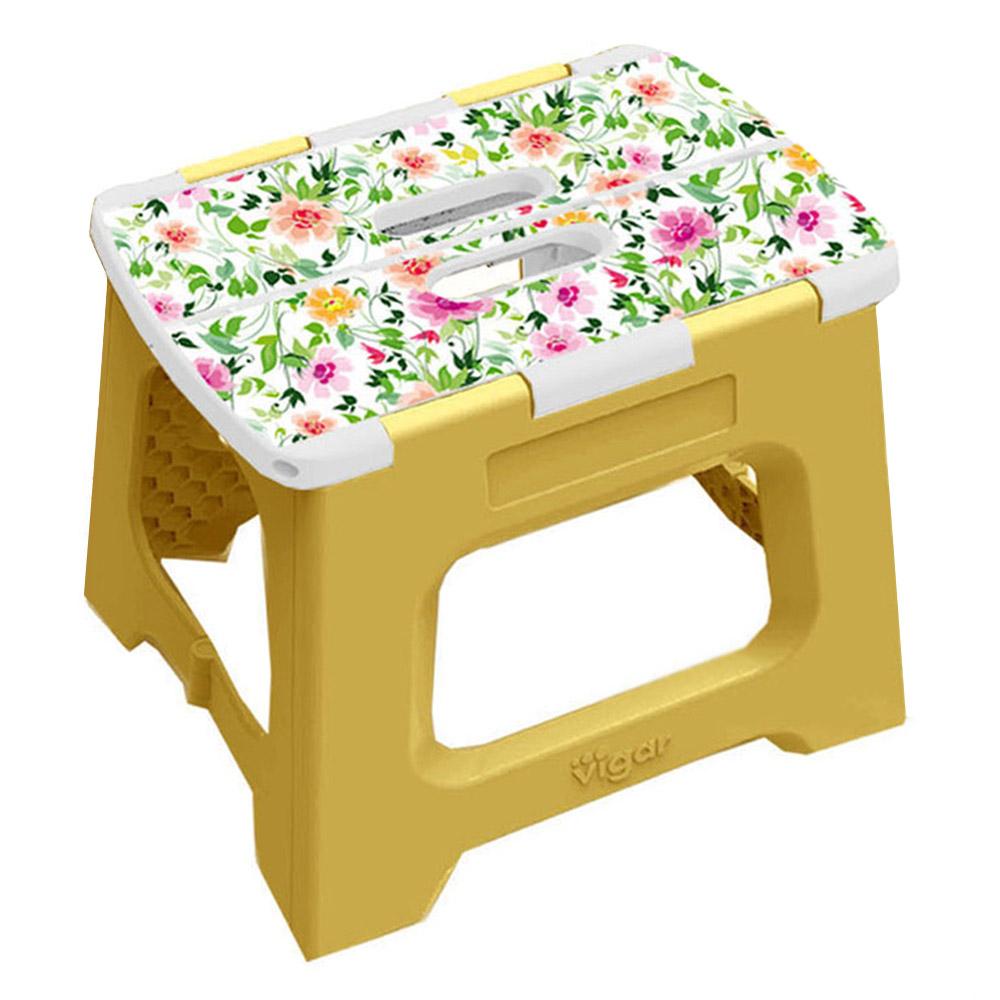 Vigar│32cm折疊板凳 上部香檸檬圖樣 (L)