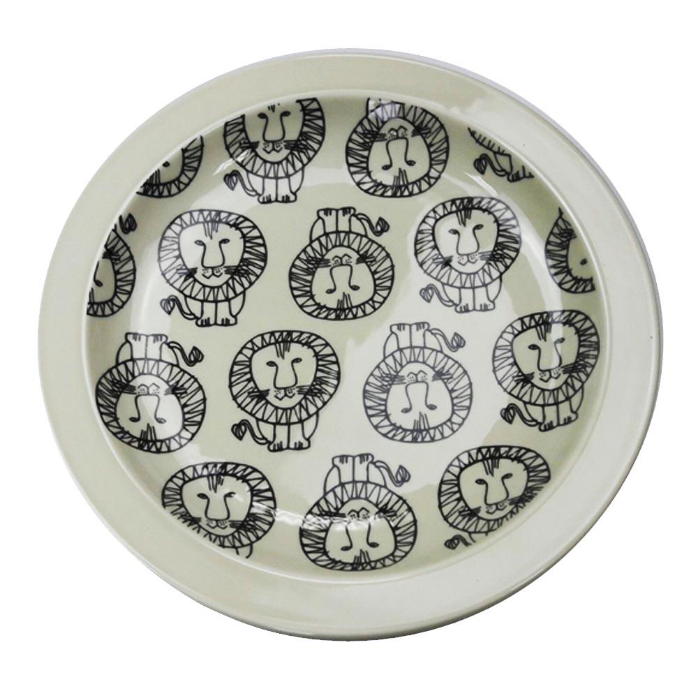 Lisa Larson│日本進口 陶瓷餐盤 獅子