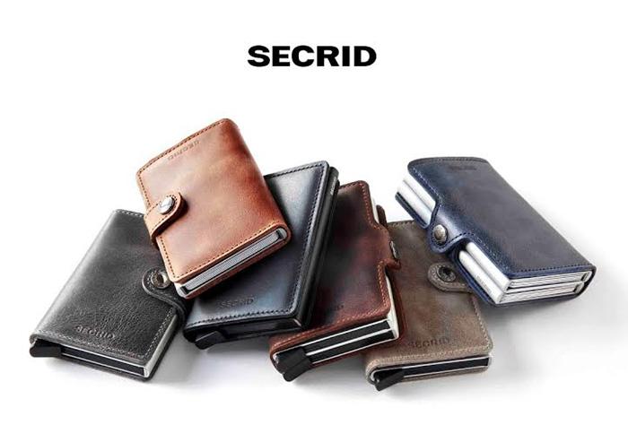 荷蘭 SECRID|RFID安全防盜錄 Miniwallet Original 經典真皮卡夾 - 酒紅