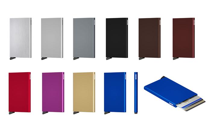 荷蘭 SECRID|RFID安全防盜錄 Cardprotector 鋁合金單卡夾 - 藍